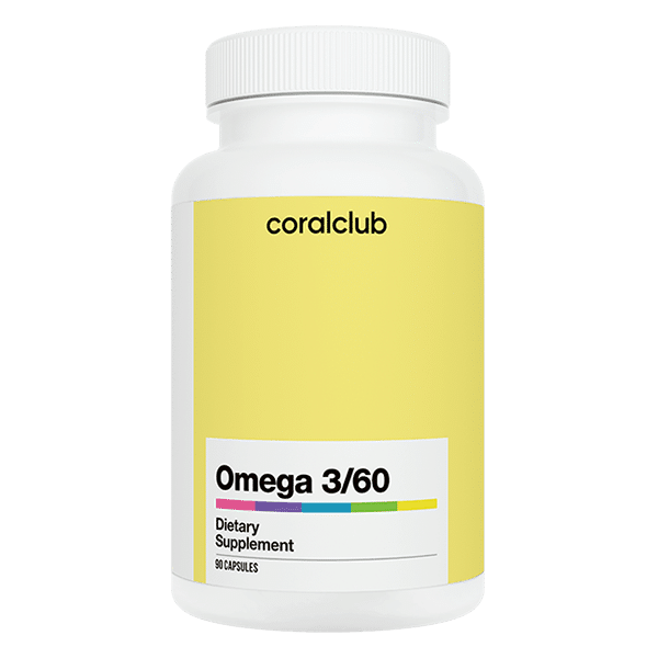 Omega 3/60 Coral Club 90 kapsułek