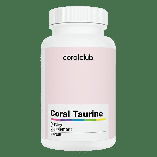 Coral Taurine Tauryna Coral Club 60 kapsułek