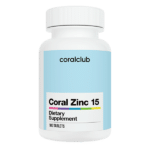 Coral Zinc 15 Cynk 100 tabletek Coral Club