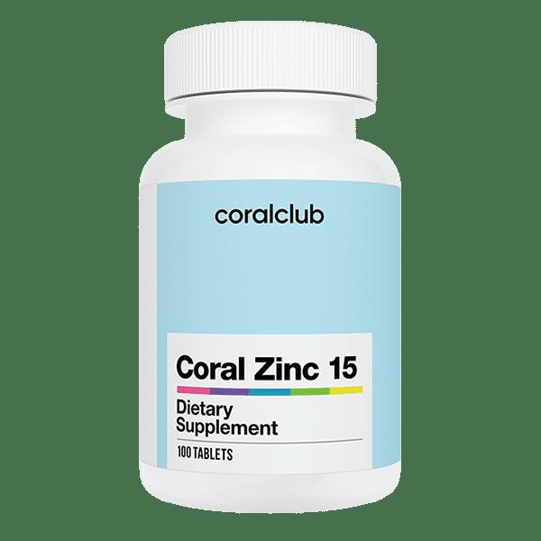 Coral Zinc 15 Cynk 100 tabletek Coral Club