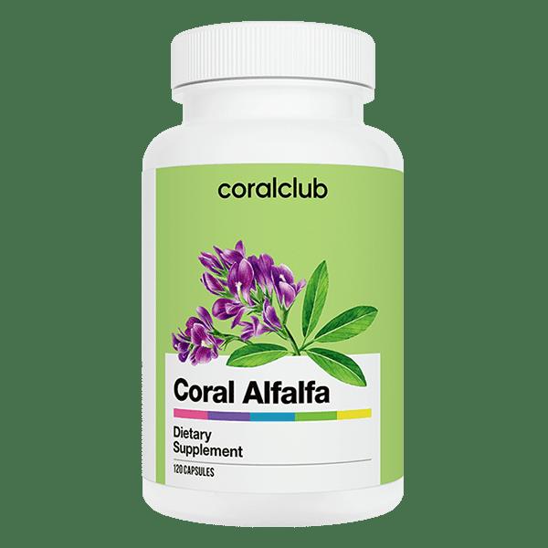 Coral Alfalfa Coral Club 120 kapsułek