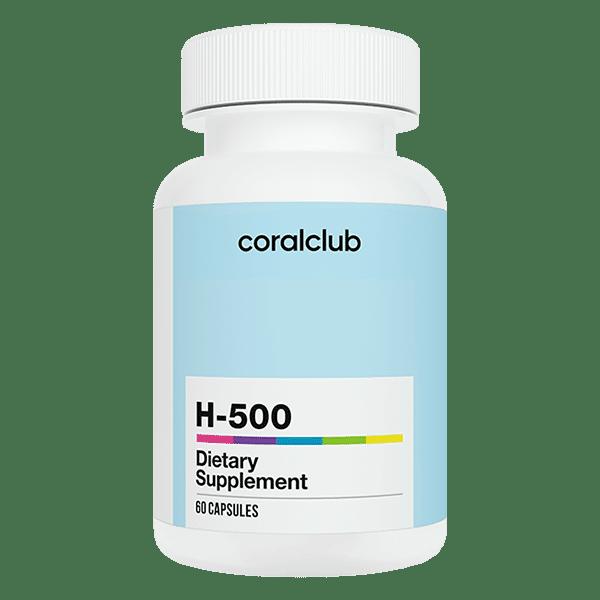 h-500 Coral Club 60 kapsułek h 500