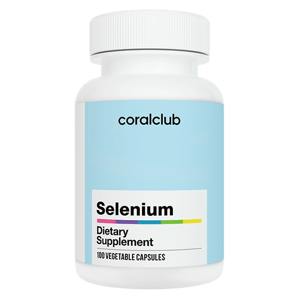 Coral Club Selenium Selen 100 kapsułek